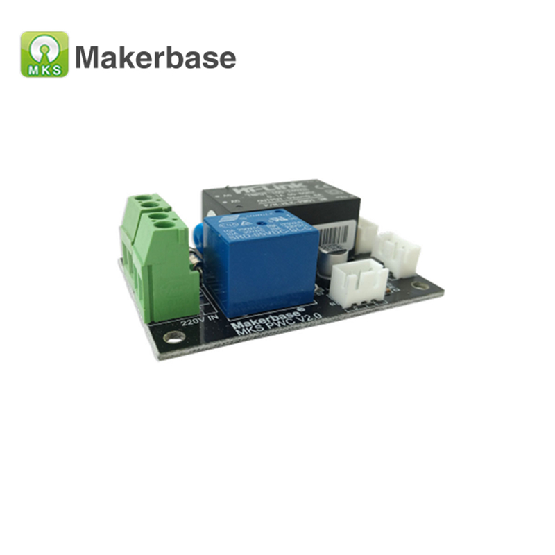 3D Printer Parts MKS PWC V2.0 auto power off after printing end finish off module support Marlin Smoothieboard for MKS Gen TFT32