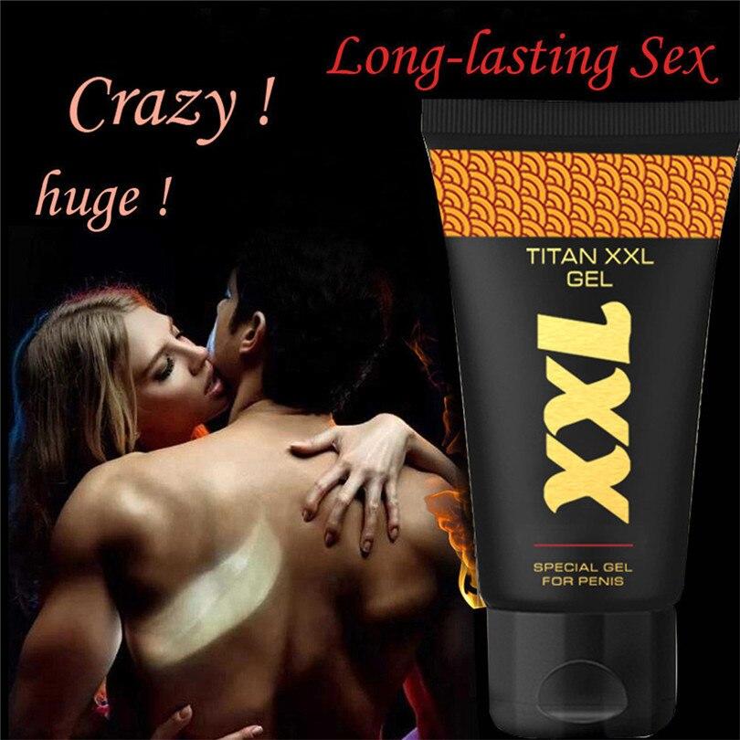 TITAN XXL 50ml Penis Pumps & Enlargers Massage Cream Strong Man Cream Special Gel Bigger Sex Prolonged Cream Health #4JY18