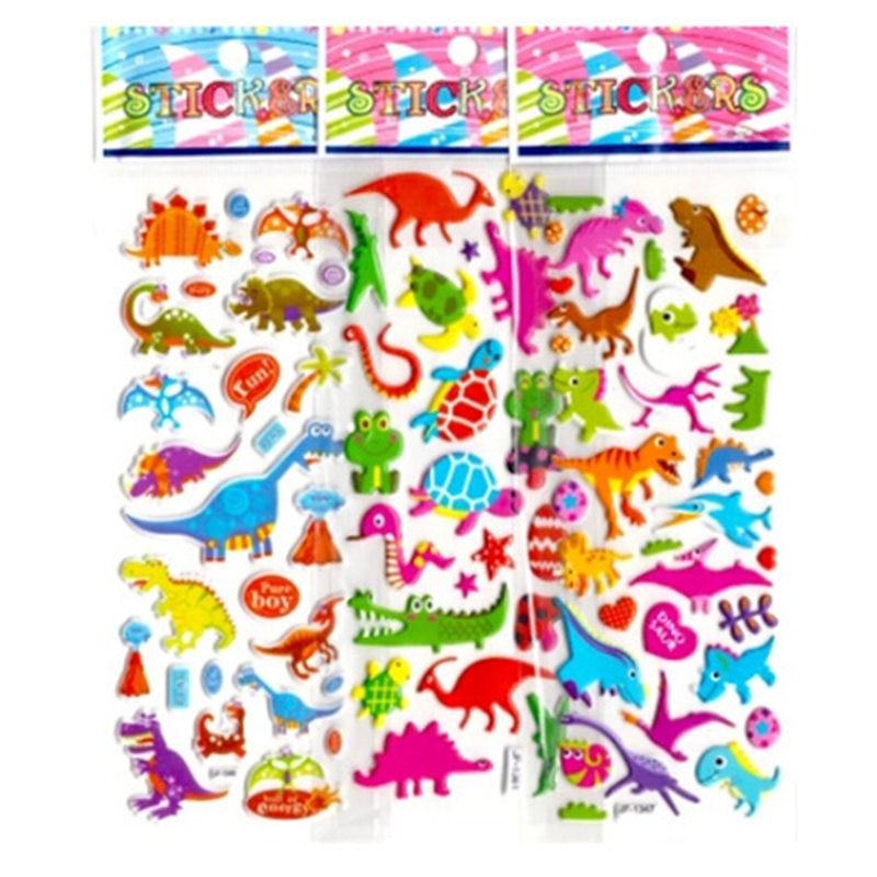500 Pegatinas de espuma de Dinosaurio Para Niños ArtesaníaNiños Dinosaurio Crafts