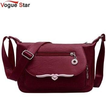 New Túi Messenger Nữ Feminina Bolsa PU Túi Xách Da Sang Trọng Nữ Thiết Kế Túi Sac một Chính Ladies Shoulder Bag LB838
