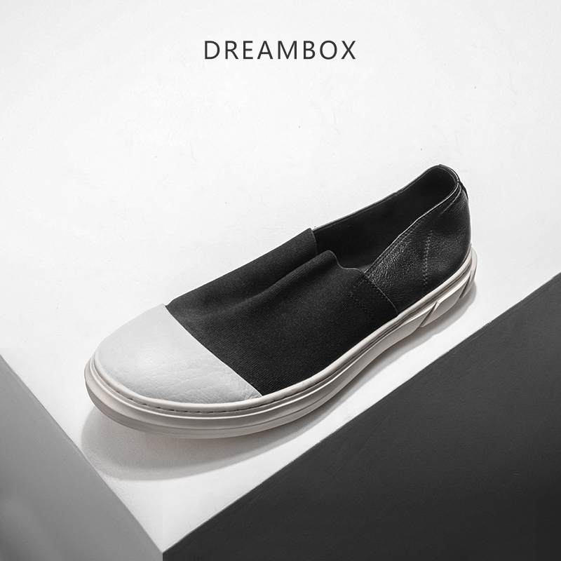 dreambox The Korean men leather breathable shoes retro  the old set foot  loafers dreambox 800 hd крайот