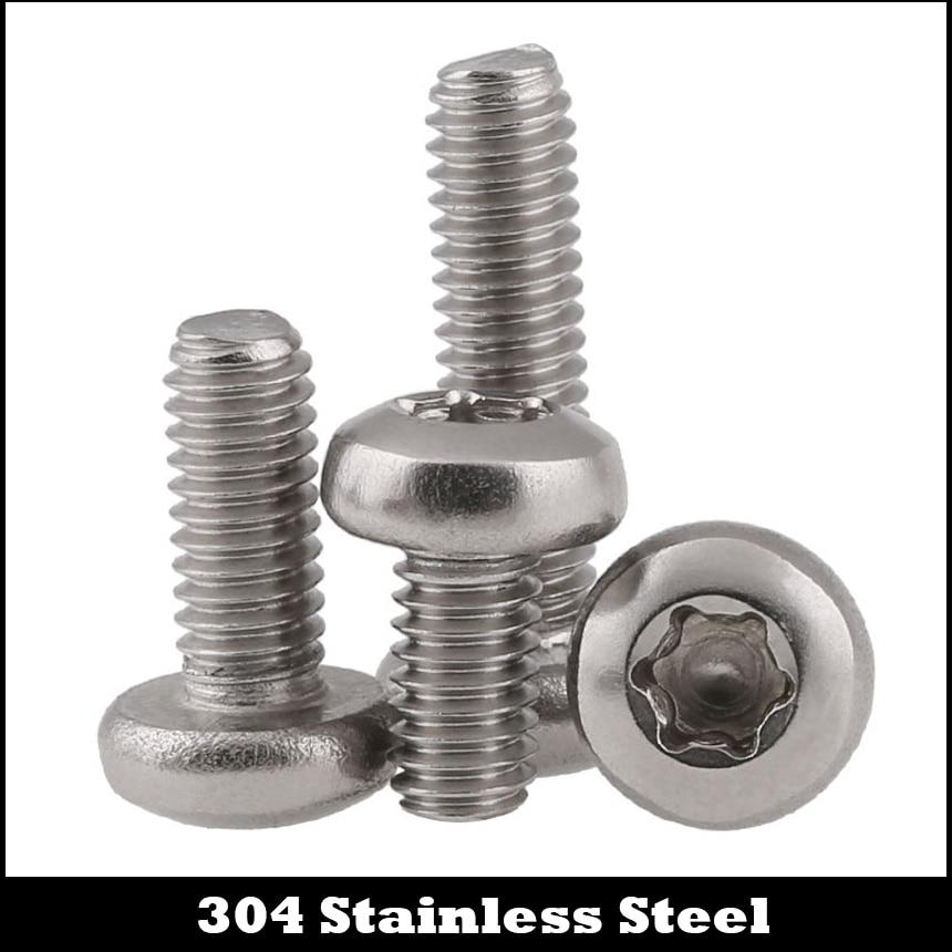 M3*4 M3x4 M3*5 M3x5 M3*6 M3x6 M3*8 M3x8 304 Stainless Steel ss DIN7985TX Torx Six Lobe Round Pan Head Machine Security Screw m3 m3 6 8 10 12 20 m3x6 8 10 12 20 304 stainless steel plain spring washer hex hexagon socket pan round head sems screw assembly