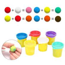Super Roller Plasticine Set Colored Soft Clay Light Playdough Lizun Slime Supplies Charms Plasticine Gum Polymer Clay Antistress(China)