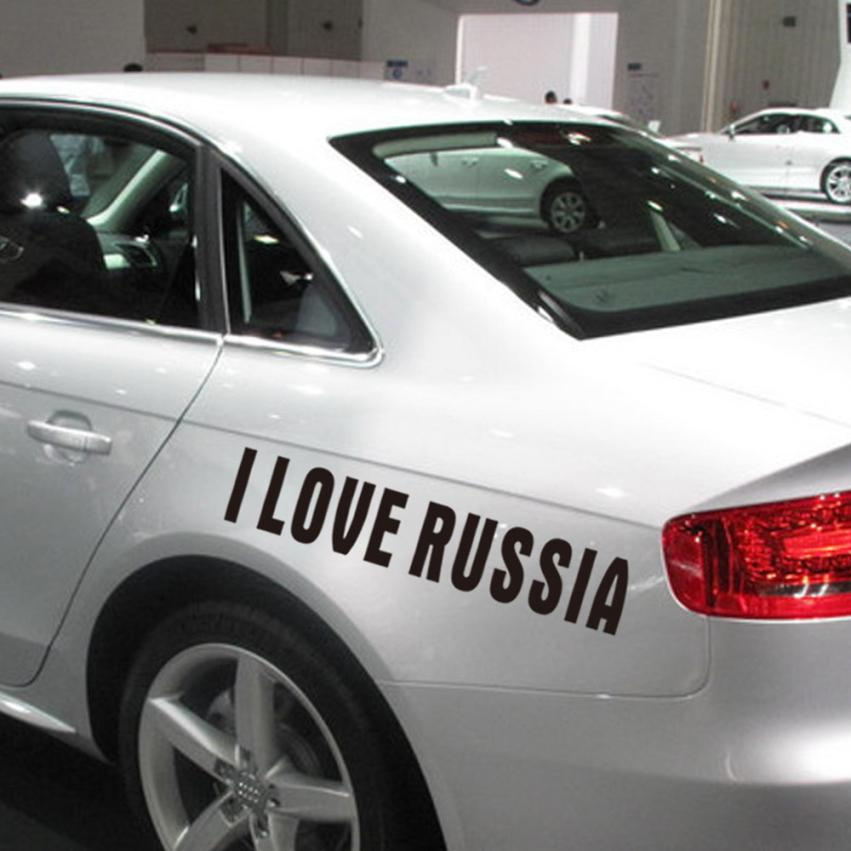 Neueste Ankunft Auto Lkw Aufkleber Die JDM Ich Liebe Russland ...