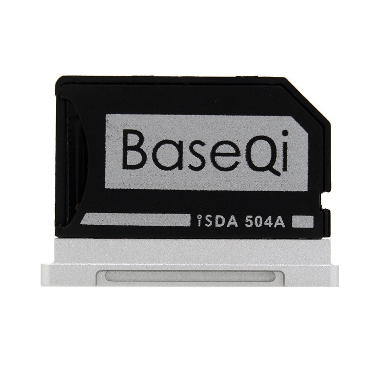 504A BASEQI MiniDrive Mémoire SD Carte Adaptateur Lecteur de Carte Pour Macbook Pro Retina 15 ''Modèle Fin 2013/après
