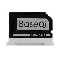 504A BASEQI MiniDrive זיכרון SD כרטיס מתאם כרטיס קורא עבור Macbook Pro רשתית 15 דגם מאוחר 2013/לאחרreader cardreader sdmacbook pro 13 memory