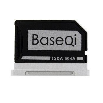 Leitor de Cartão Adaptador de Cartão de Memória SD MiniDrive BASEQI 504A Para Macbook Pro Retina 15 ''Modelo Atrasado 2013/depois
