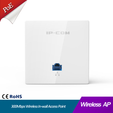 300Mbps Wireless In-wall Access Point WIFI AP Indoor Wi-Fi Repeater Extender Wall Mount Standard 86*86mm Panel Design
