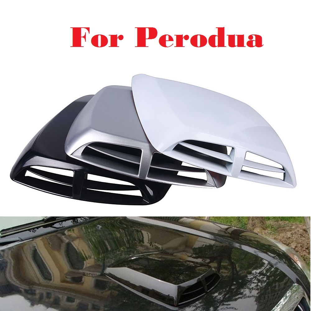 Viva car sticker design - Car Styling Air Flow Intake Hood Scoop Vent Bonnet Stickers For Perodua Kancil Kelisa Kembara Myvi