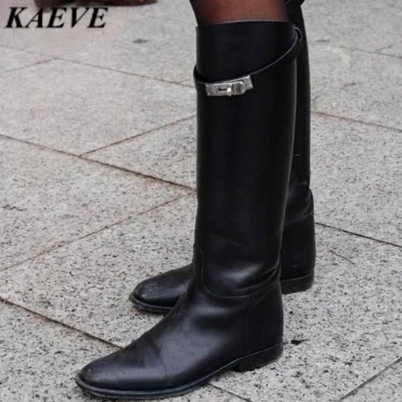 Botines Mujer 2018 Spring Summer Long Boots Brown Grey Wine Soft Real Leather Knee High Boots Round Toe Flats Women Big SizeBotines Mujer 2018 Spring Summer Long Boots Brown Grey Wine Soft Real Leather Knee High Boots Round Toe Flats Women Big Size
