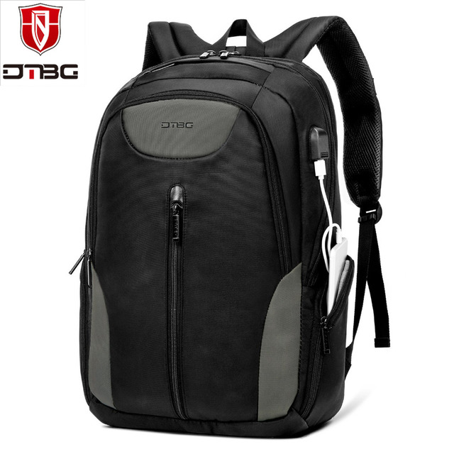 DTBG 17.3 Inch Waterproof Backpack With USB Charging Port Fits 15-17 Inch  Laptop Backpack Bag   Notebook Computer Rucksack a55dd6b3eef40