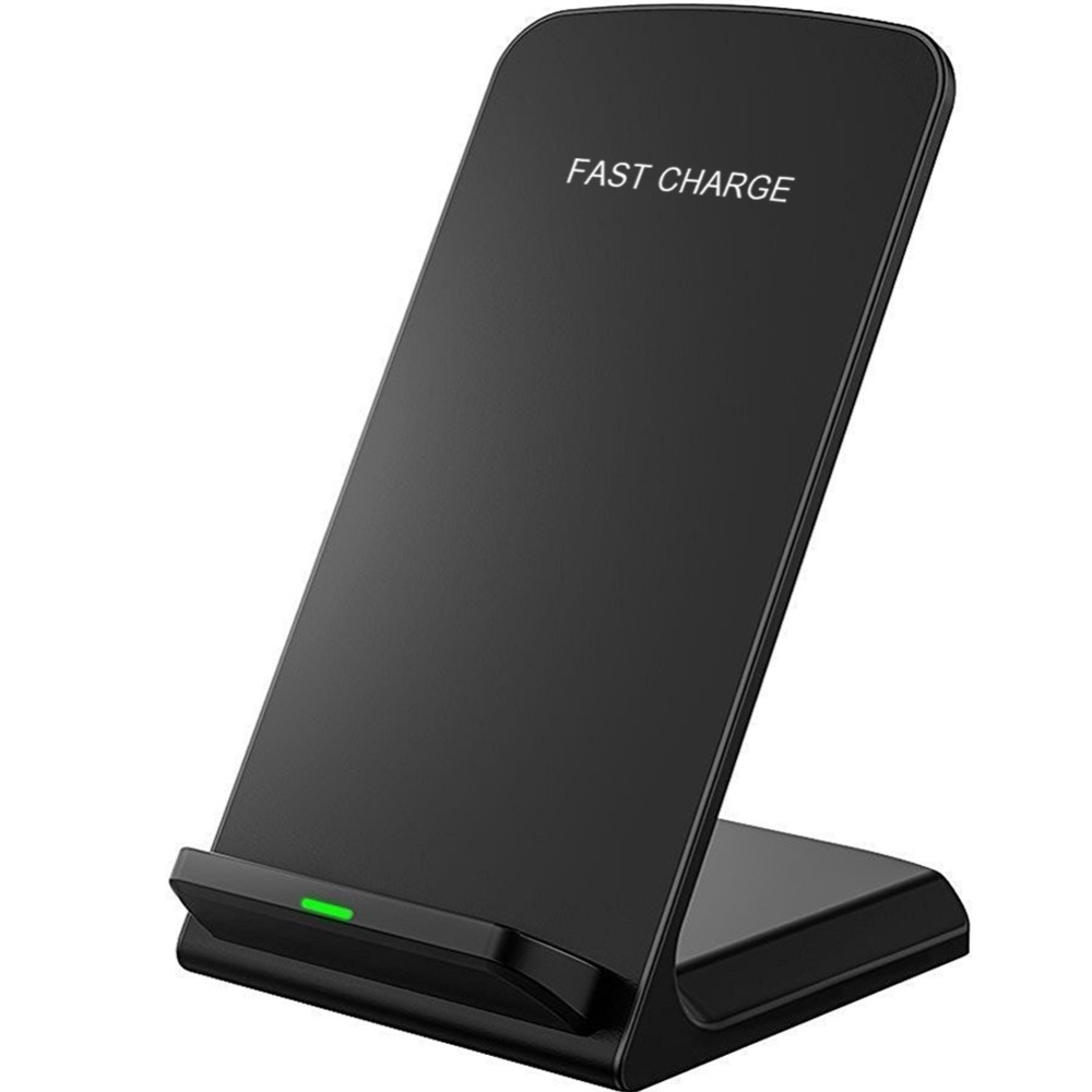 10W Fast Qi Standard Wireless Charger Stand for Samsung Galaxy S8 S7 S6 Edge Note 8 Quick Wireless Charger Charging for iphone X