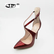 ФОТО 2018 new roman sandals ankle buckle luxury big crystal high heels women sexy stiletto pumps club party wedding shoes woman