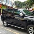 Apto Para Toyota Land Cruiser Prado FJ150 2010-2016 Mapas & Abrigos Sol Viseira Janela Chuva Escudo Protetor de Moldagem Guarnições de cobertura