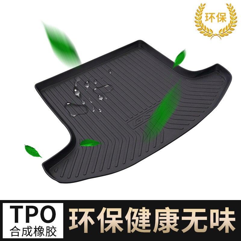 Myfmat tapis de coffre sur mesure pour Nissan QASHQAI SYLPHY MARCH GENISS Blue Bird MAXIMA Cefiro livina accessoires d'intérieur