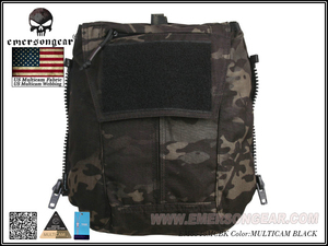 Image 4 - Emersongear Tactical Pack Zip on 패널 Multicam Plate Carrier Zip 백 가방 CPC NCPC JPC 2.0 AVS Vest 용 수화 캐리어