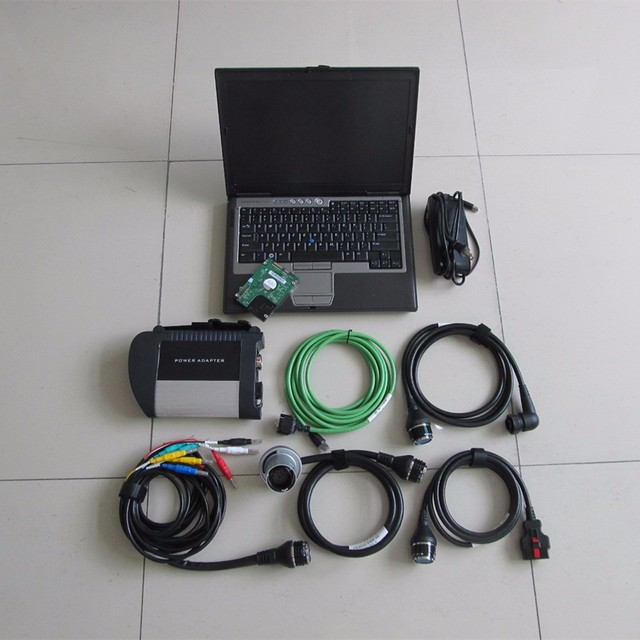 Best Offers Mb Star C4 d630 Laptop 320gb hdd 2018.12 Newest Software full Set Ready to use 12v 24v Diagnostic Scanner