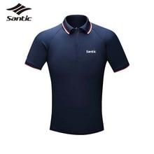 2017 Santic Mens Cycling Jerseys Collar Short Polo T-shirt Bike Jerseys MTB Road Bicycle Clothing TOPS Ropa Ciclismo S-3XL