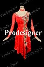 Prodesigner High Quality.Latin dance dress,tango salsa,latin dance wear, Salsa Tango Rumba Cha Cha dance dress skirt