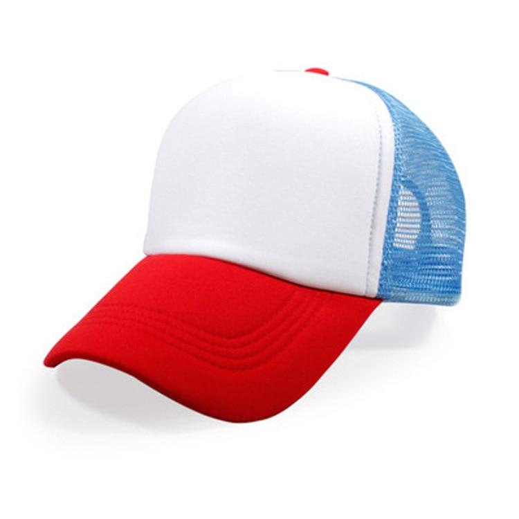 Men's Baseball Cap Women Travel Sun Hats Net Snapback Caps for Men Printing LOGO Customized Hat Men's Cap Male and Female(China)