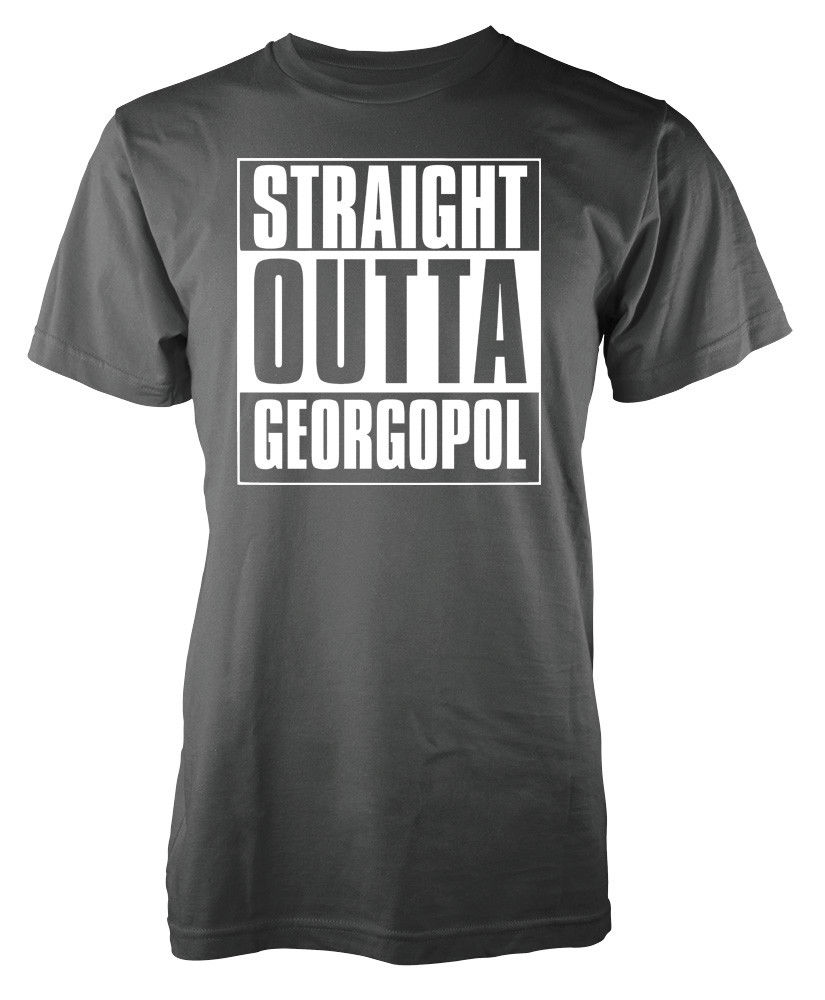48cba59569a Player Unknown Battleground Straight Outta Georgopol Pubg adult t shirt  Cool Casual pride t shirt men Unisex New Fashion tshirt-in T-Shirts from  Men s ...