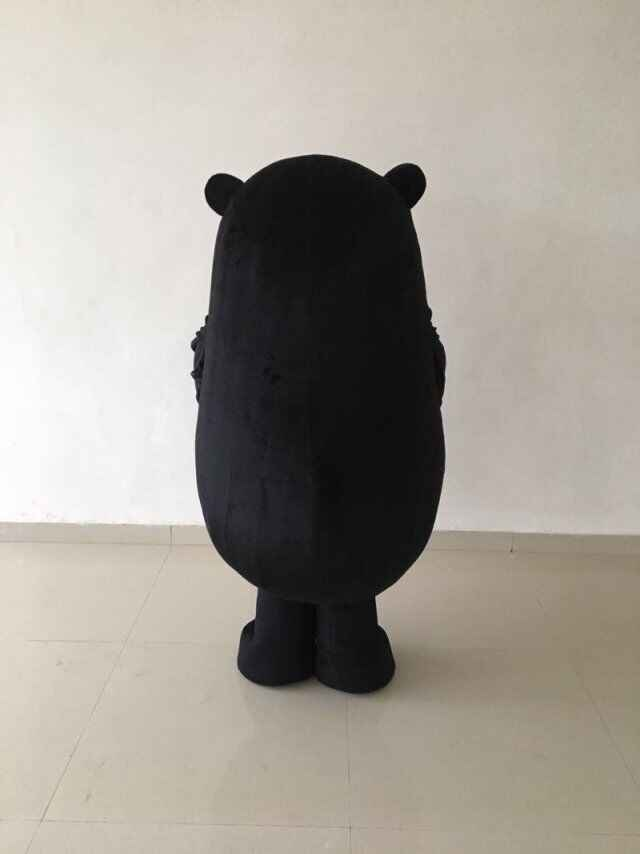 Panas Ukuran Dewasa Jepang Kumamon Bear Maskot Kostum Hewan Kartun Beruang Liburan Mewah Gaun Halloween Natal Ulang Tahun Pesta Suit