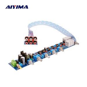 Image 1 - AIYIMA NE5532 Preamplifier Tone Bord HIFI Preamplifier 5.1 Volume Control Tone EQ Preamp For 5.1 Amplifier Diy AC15V 0 AC15V