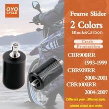 For Honda CBR900RR CBR929RR CBR954RR CBR1000RR CBR 900 929 954 1000 RR Motorcycle Frame Slider Crash Pad Falling Protection цена в Москве и Питере