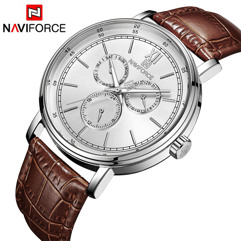Mens Watches Brand Luxury Geniune Leather Bands Fashion Casual Quartz Wrist watch Men Luminous pointer 24 Hour Business Clock mike davis knight s microsoft business intelligence 24 hour trainer