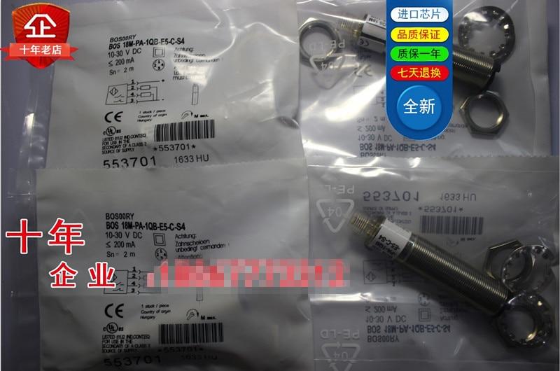 Original new 100% high quality sensor switch 18M-PA-1QB-E5-C-S4 dhl ems for ball uff bos 18k ps 1lqk e5 c s4