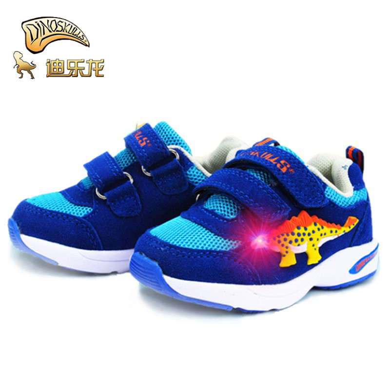 DINOSKULLS Dinosaur shoes baby shoes Boys Spring Autumn new breathable infant toddler shoes Light kids running soft shoes22-26DINOSKULLS Dinosaur shoes baby shoes Boys Spring Autumn new breathable infant toddler shoes Light kids running soft shoes22-26