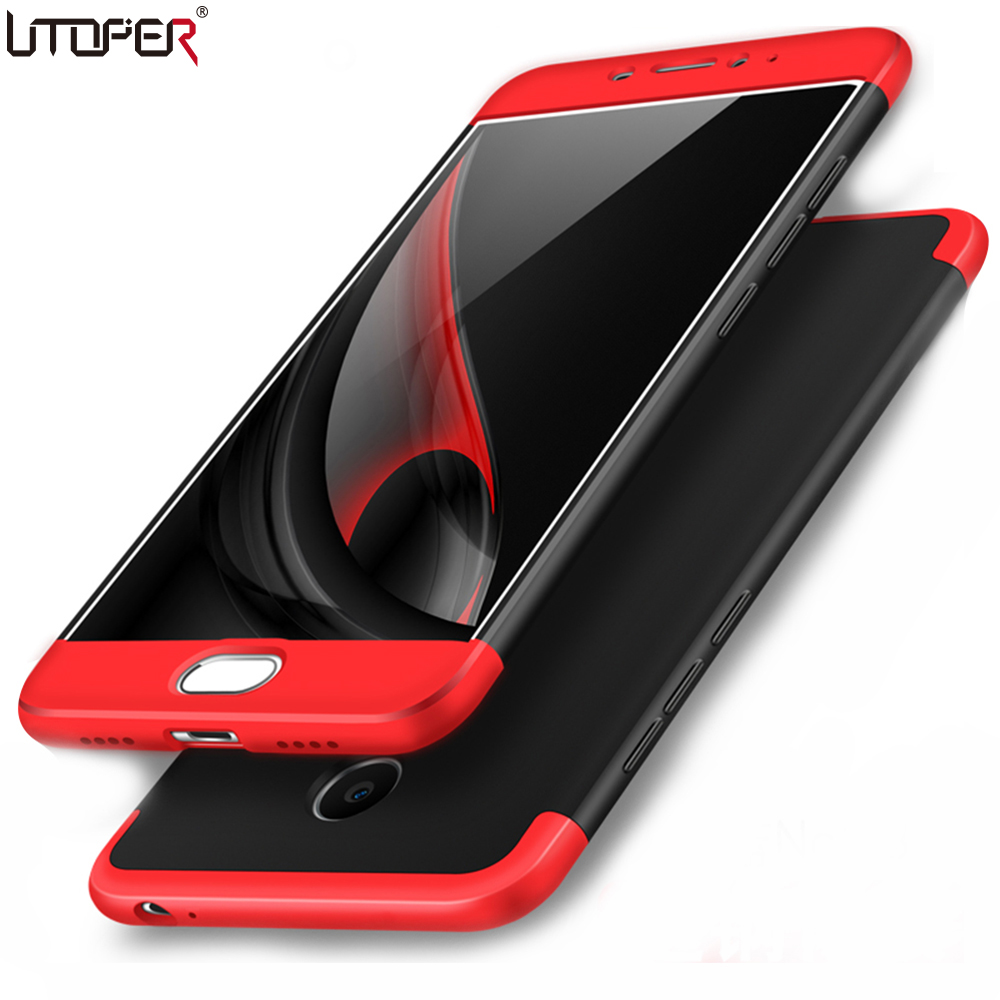 UTOPER Case For Meizu M3 Note Case Cover Fashion 360 Full Protection Hard Plastic Back Cover For Meizu Note 3 M3Note Note3 Case