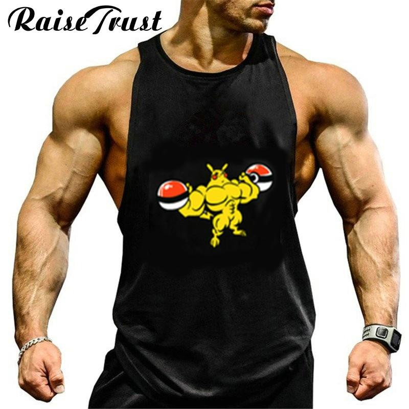 Genial Neue Tops Kleidung Bodybuilding Fitness Männer Turnhallen Tank Top Weste Stringer Sportswear Unterhemd Fitness Westen Tank Top Ausgezeichnet Im Kisseneffekt
