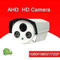 4 unids Mucho Haikang Dos Matriz de Leds Infrarrojos 1080 P/960 P/720 P 3mp Lente Blanco de Metal Al Aire Libre AHD CCTV Cámara de Seguridad El Envío Libre