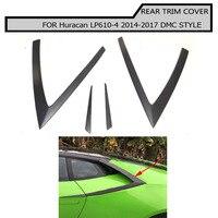Накладка на заднее крыло из углеродного волокна для Lamborghini Huracan LP610 4 201 2017
