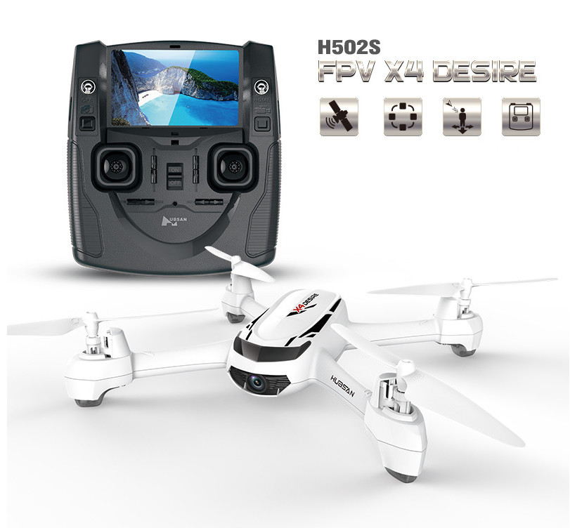 GPS Drone FPV Hubsan H502S X4 RC Helicopter With HD Camera 720P 5.8G Follow me/ Altitude hold One Key Return / Headless