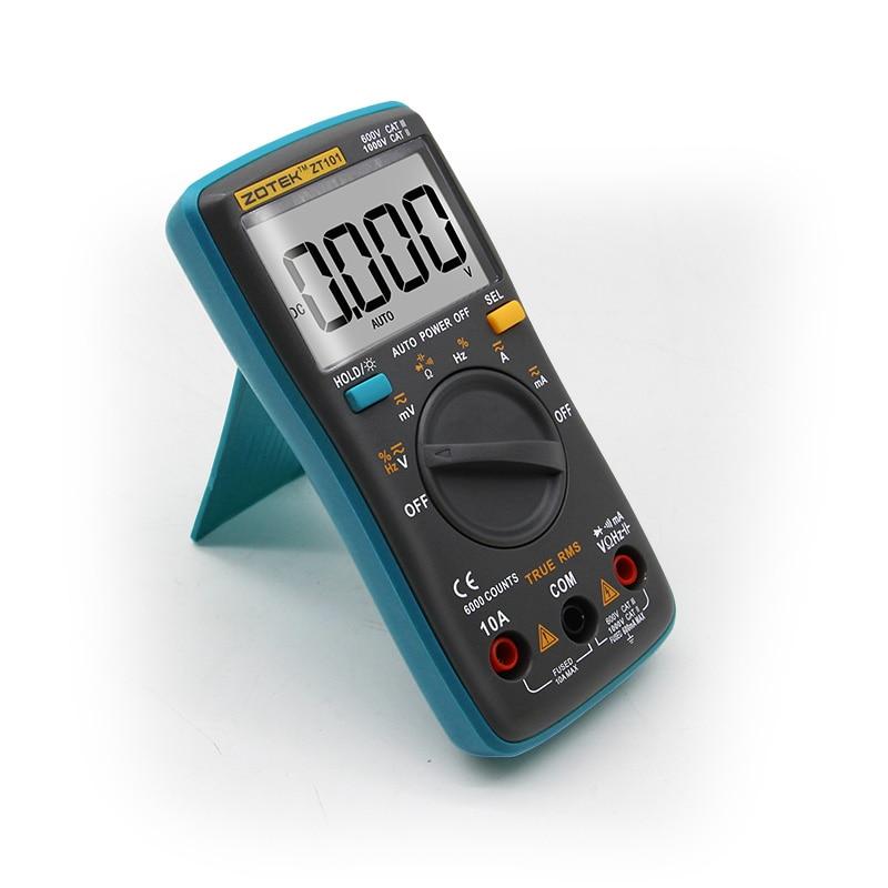Image 5 - ZOYI Digital Multimeter ZT98/100/101/102 True RMS Auto Range Multimetro Voltmeter Ammeter Capacitance Temperature Hz  NCV Tester-in Multimeters from Tools