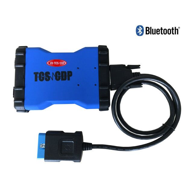 With keygen+ Bluetooth obd2 bluetooth adapter VD TCS CDP PRO PLUS OBD2 Car Truck Diagnostic Tool OBD Scanner As  MVDiag 3pcs/lot