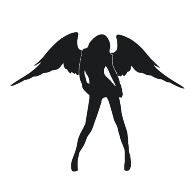 Car Styling Sexy Girl Angel Car Sticker Motorcycle -5884