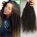 Бразильский супер курчавый бразильский вьющиеся волосы девственницы 4 пачки италия яки Staight волосы ткать пучки любить продукты волос