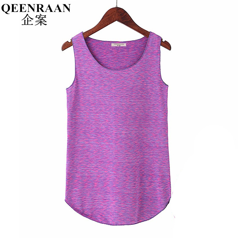 Summer Womens   Tank     Tops   Elastic Loose Vest Quick Dry Breathable Sleeveless   Tank     Tops   Ladies Casual Shirts Skins Cami Vest