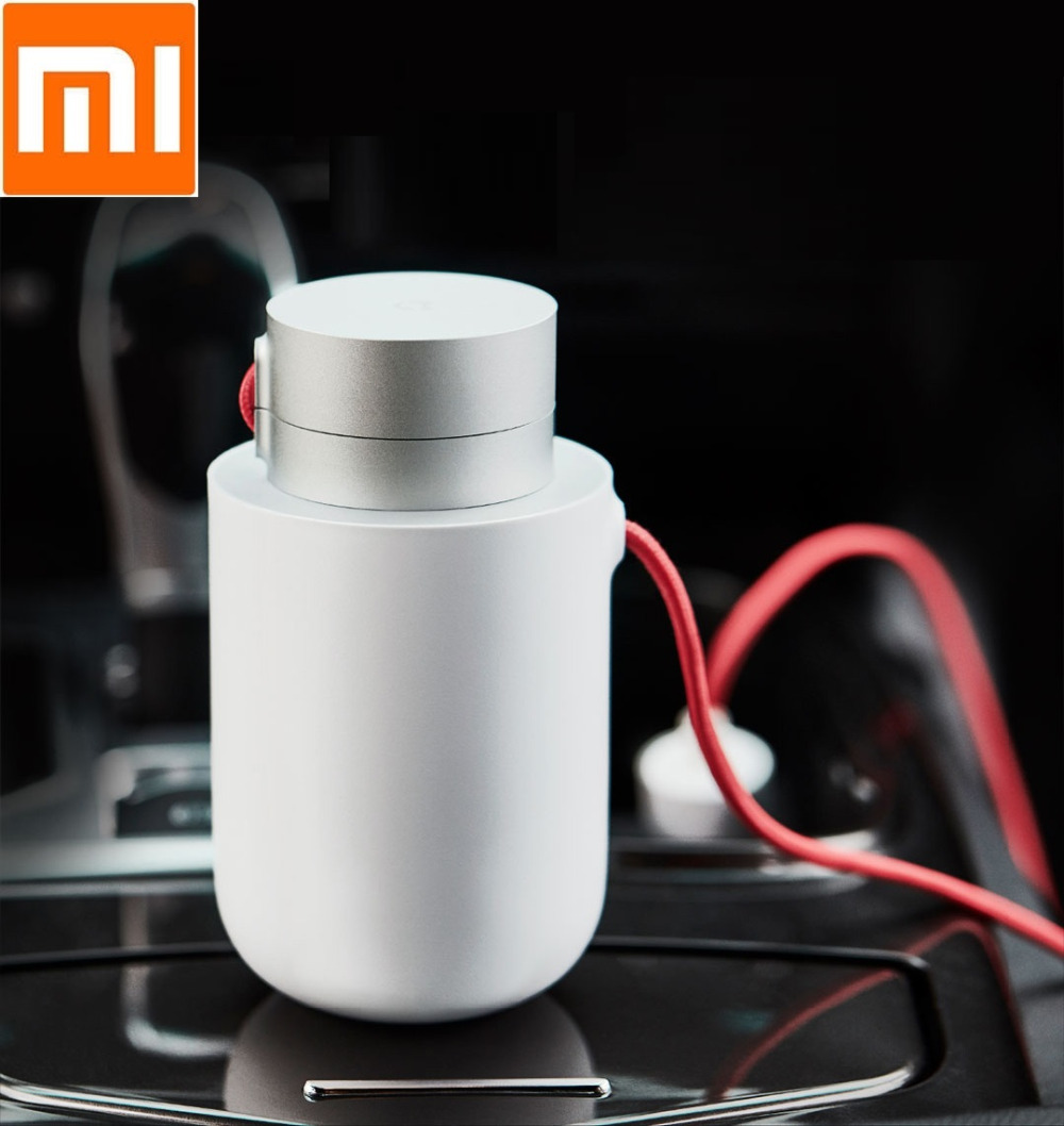 The latest Xiaomi Mijia 100W Portable Car Power Inverter Converter DC 12V to AC 220V with 5V/2.4A Dual USB Car Charger