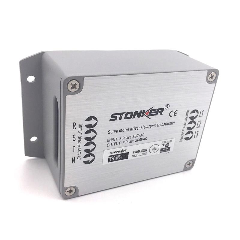 China free Shipping Servo Eletronic Transformer Power Supply Input 3 Phase 380V Output 3PH 220V for