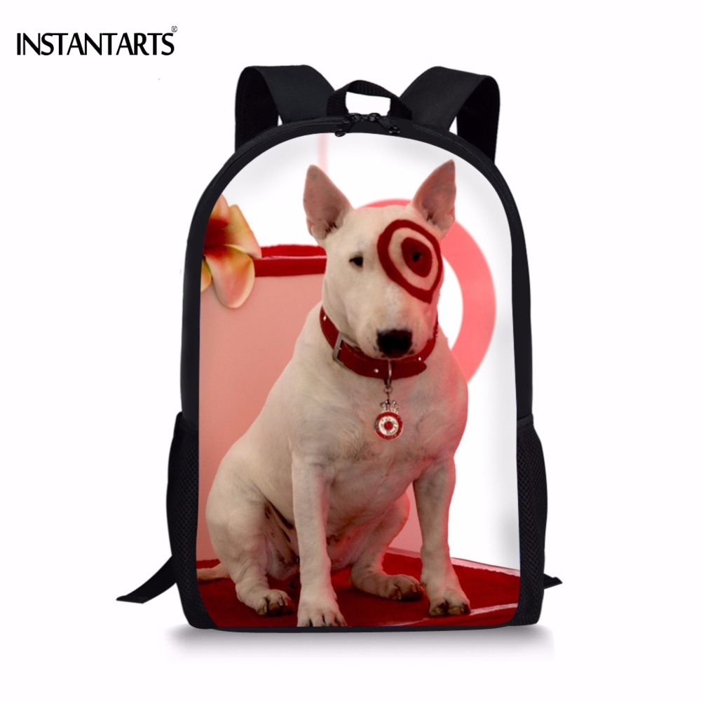 Luggage & Bags Amicable Instantarts Kawaii 3d Bull Terrier Dog Print Boys Girls School Bags Casual Lap-top Backpacks For Teen Children Book Shoulder Bag Kids & Baby's Bags