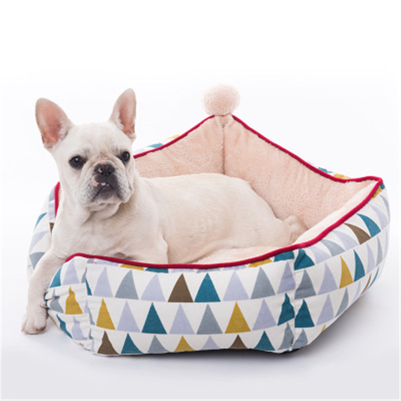Dog Doors, Houses & Furniture Reasonable Pet Kennel Removable Round Sea Anchor Style Four Seasons Pet Mat Dog Bed Cat House Puppy Kitten Sofa Warm Chihuahua Cushion