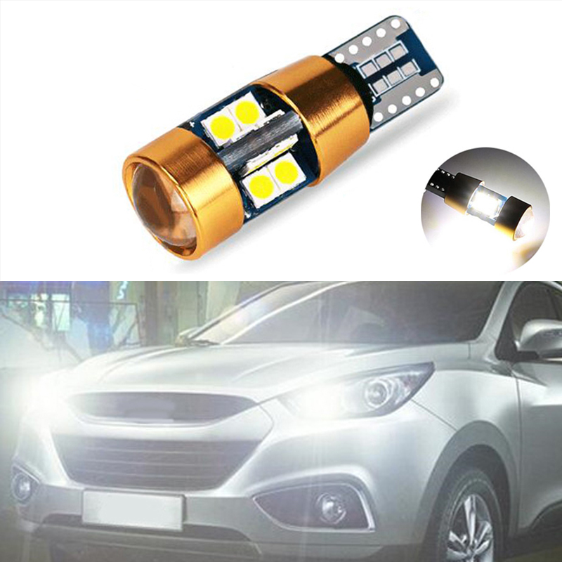 1x New Car LED T10 Canbus W5W No Error Wedge Light For Hyundai Solaris Accent I30 Ix35 I20 Elantra Santa Fe Tucson Getz