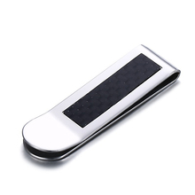 Mens Money Clip Carbon Holder Credit Card Clamp Dollar Wallet Cash Purse Bill Pocket Clips Male