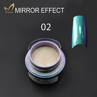 Metallic Nail Shining Mirror Powder Mirror Effect Nail Powder Pigment Powder Nail Chrome Pigment Glitters Professional