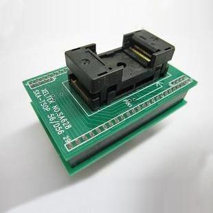 ФОТО New IC test base adapter burn bridge transformation turn TSOP56 DIP48 SA628 - B102