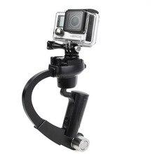 GoPro Steadycam hendheld DV видео Steadicam Стабилизатор лук Форма мини-штатив для Go Pro Камера 5 4 3 3 + SJ 4000 sj5000 Xiaomi Yi
